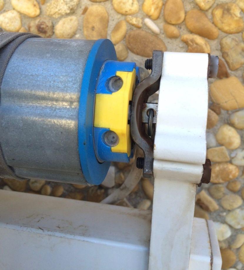 moteur tubulaire sur store banne