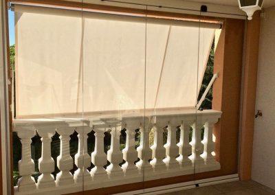 mur de verre escamotable sf 25 par abristore a toulon